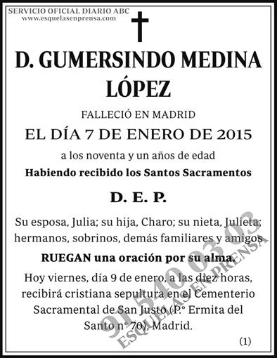 Gumersindo Medina López